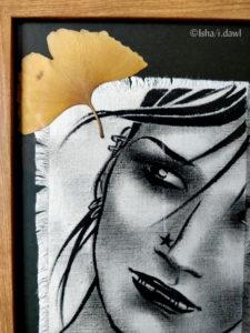 Une des toiles de la nouvelle série Samy.